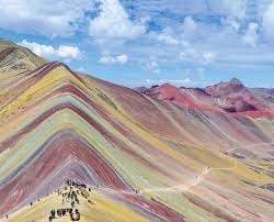 color mountains